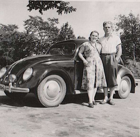 Olle och Birgittas första semesterresa 1951