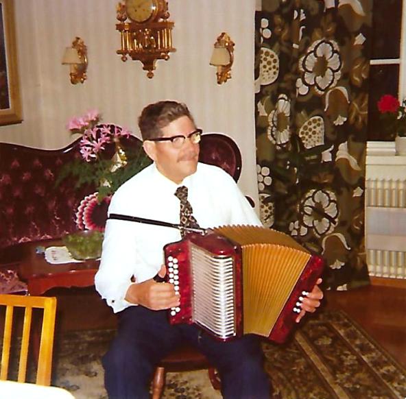 Fadern Ernst Andersson 1955