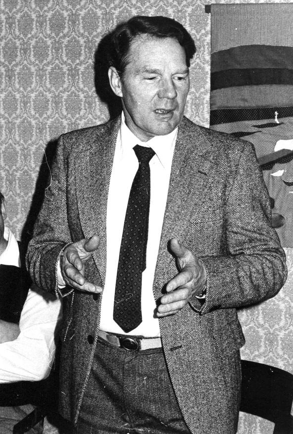 Olle går i pension efter 40 års tjänst hos Vattefall