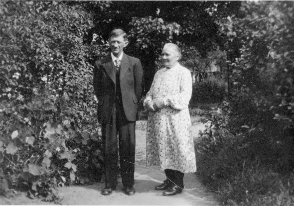 Johan Svaren o Hilda Löten 1940-tal