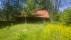 Ladugården över forna gårdsplanen