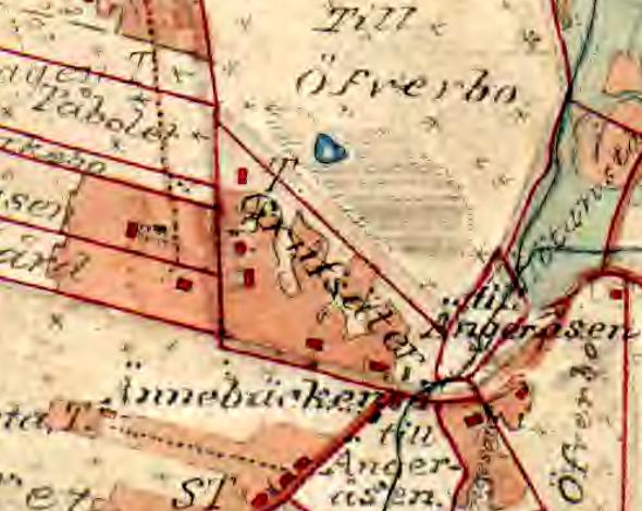 Klefven karta 1877