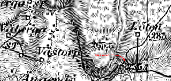 1880 års karta - generalstabskartan Klicka på kartan för att se den större!