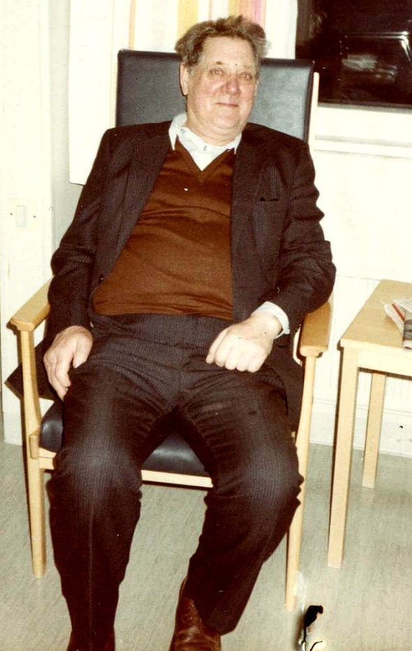 Foto Bengt Persson, född i Stentomten