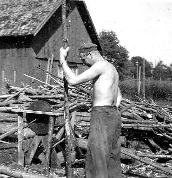 Löten Ambjörntorp 1953 Karl David Johansson.Foto från Kjell Håkan Johanssons album