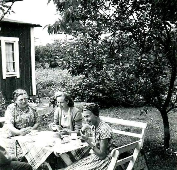 Löten Ambjörntorp 1953.Foto från Kjell Håkan Johanssons album