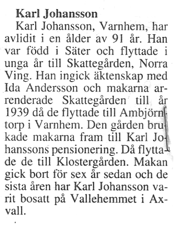 Karl minnesruna