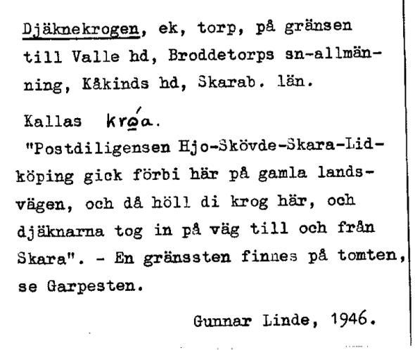 Ortsregistret 1946