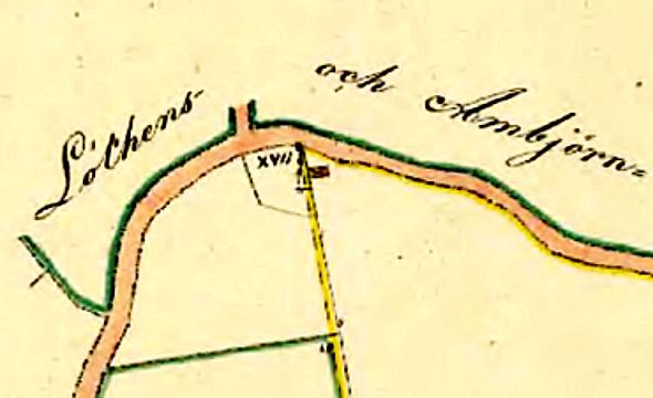 Delförstoring karta 1883