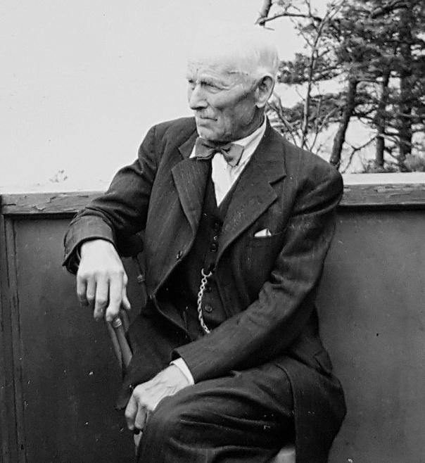 Anders Gustaf Stig, 1950-tal - död 1957 - bild från Barbro Stig, Alingsås, 2019 - Gustafs sondotter
