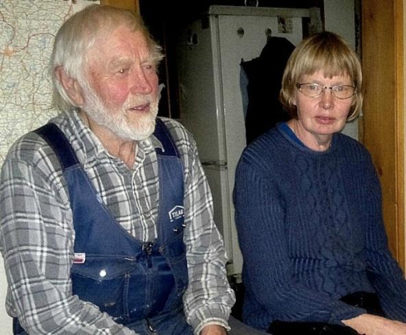 Olle Magnusson och Ulla Karlsson i Altorp 2013