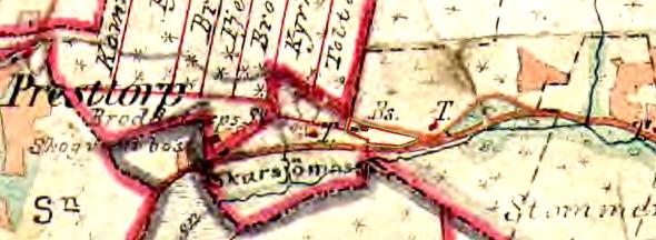 Carlstorp 1877 - klicka på kartan för att se den större!