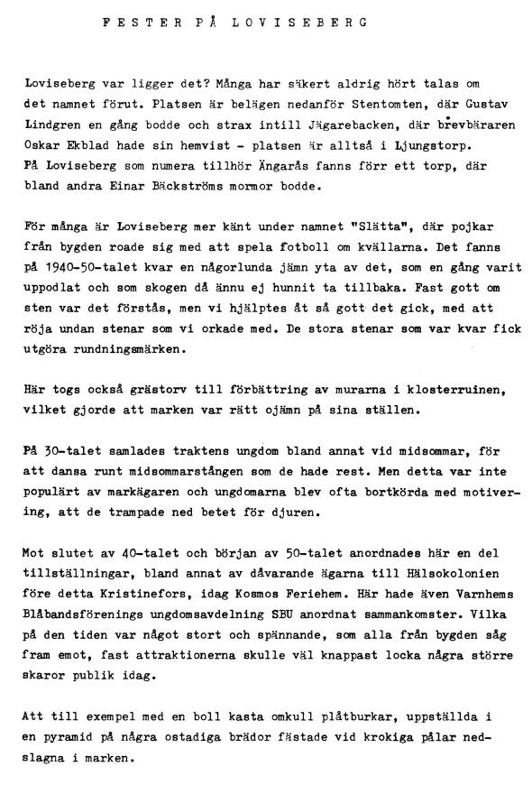 Av Egon Holm i Varnhemsbygden 1989