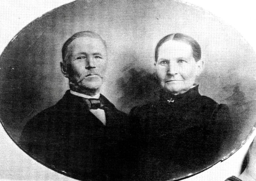 Lars Gustafsson och hustrun Sofia Christina Petersson - Foto från Verna Anderssons samlingar