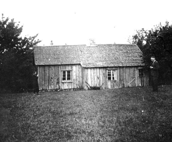 Foto av Carl Sjöberg 1936 - ur Verna Anderssons samlingar