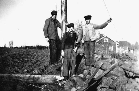 Västtorpa gata - foto ur Verna Anderssons samlingar