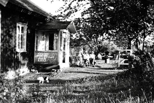Nyttorp 1930-tal - foto från Verna Anderssons samlingar