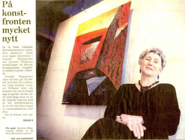 Skövde Nyheter 2 januari 2000. Klicka på artikeln för att läsa bättre!