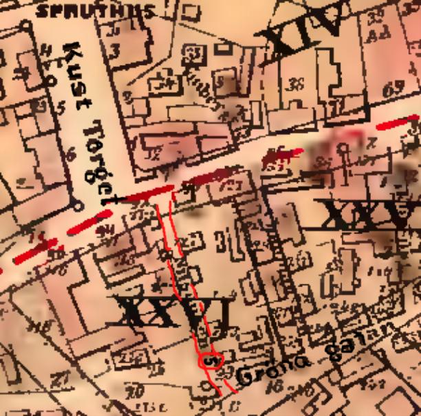 Karta från Göteborgs stads Historiska kartor