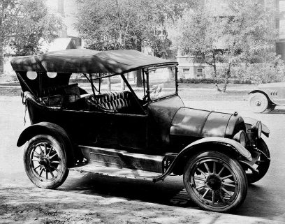 1920 Willys Overland Model Touring Car