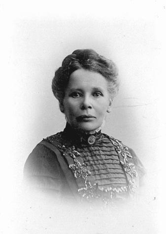 Emilia Gustafsdotter - Almas moster; bild från Birgit Larsson, Skövde, 2016