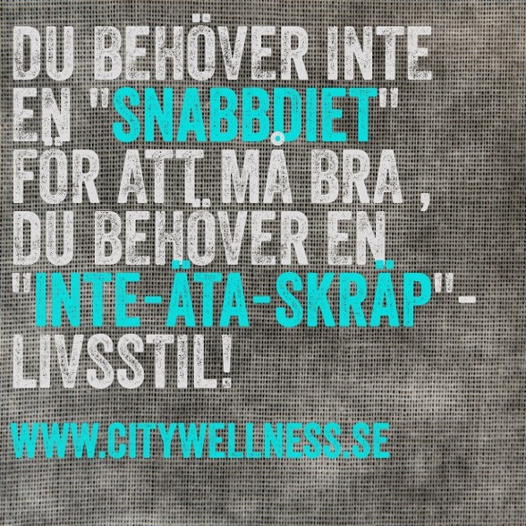 som sagt 80% av tränings resultaten är från kosten :)
