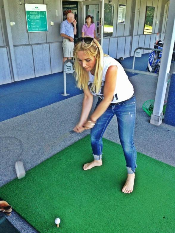 Golf hillbilly style var en av dom