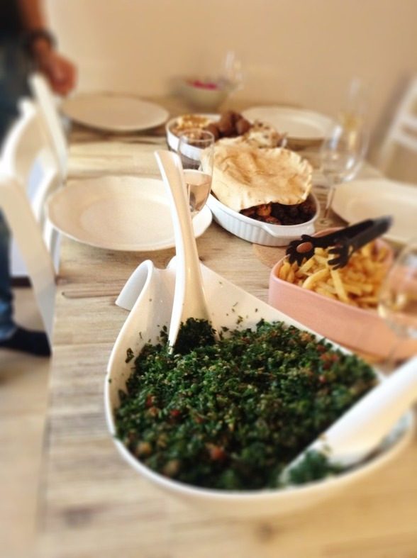 Tabouleh - näring