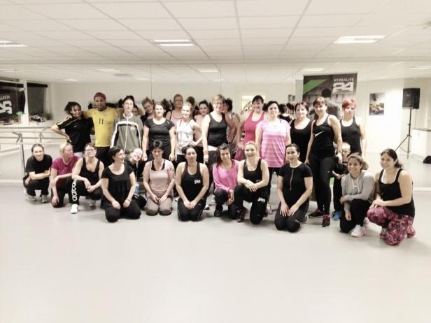 Tack alla Zumbisar som kommer och dansar med oss