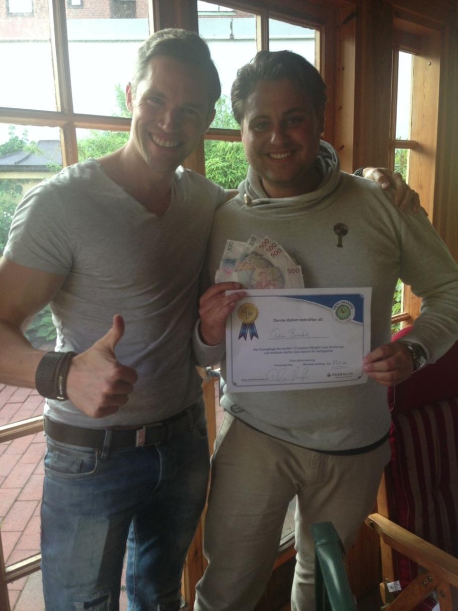 Tobias var en lycklig vinnare av två kvalificeringar , Ildiko var minst lika nöjd för 3e plats.