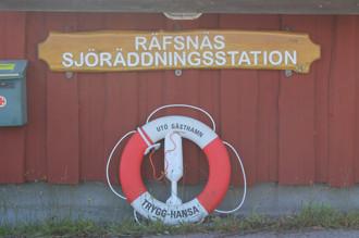 Refsnäs Sjöräddningsstation vid Båtsholmen