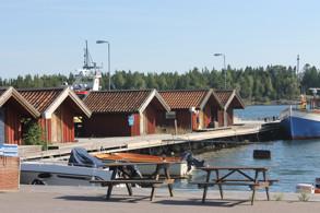 Båthusen i Hamnen