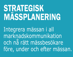 Strategisk mässplanering