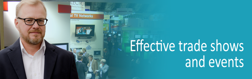 Effective trade shows and events