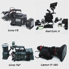 hyra kamera, ARRI ALEXA MINI, RED, SONY F5 FS7 HYRA OBJEKTIV LJUD LJUS