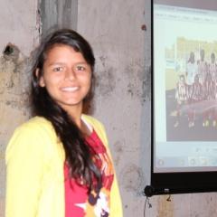 Allesandra holder foredrag på Academia Futuro  - Foto Snorre Holand Futuro Rio