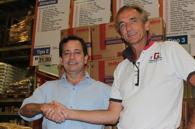 Futuro Rio forhandlet frem ny avtale på kjøp av mat fra Macro. Th. Tom Dybwad Foto Futuro Rio Snorre Holand