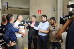 Di 4 største TV stasjonene i Brasil møtte Thalison