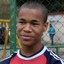 Thalison i trygge rammer hos Futuro Rio de Janeiro på Bancarios i favelaen INPS. Thalison bor i dag hos vår stedlige Prosjektleder Jair Ferreira og kone.