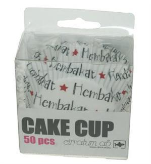 Bull-& muffins formar Hembakat 50-pack