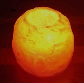 Saltkristallykta - Saltkristallykta, 700 g 40 mm hål