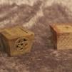 Rökelsehållare/ljusstake i Täljsten - Multifunktionell - Rökelsehållare i Täljsten - Pentagram