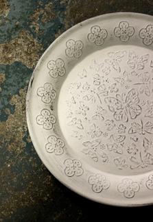 Majas Cottage Ljusfat silver eller mattvit 30 cm - Ljusfat mattvit