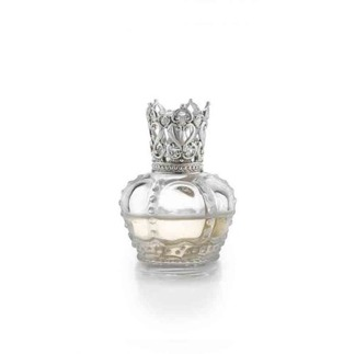 Dofta Oljelampa Crown (klar/silver) -
