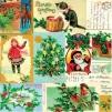 Servett Julmotiv