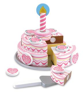 Leksaker - Tårta med 3 lager -