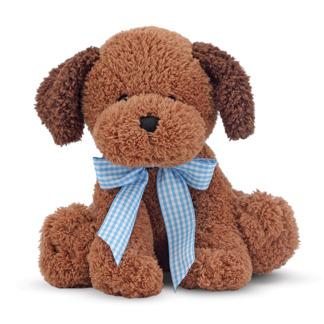 Leksaker - Chokladfärgad hundvalp -