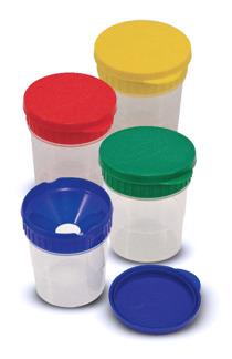 Leksaker - Spillsäkra målarmuggar (4-pack) -