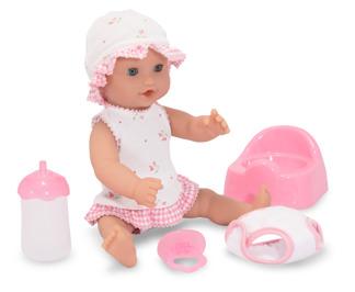 Leksaker - Dockset Annie (dricker vatten och kissar sedan) -