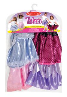 Leksaker - Kjolar i 4-pack (utklädnad) -